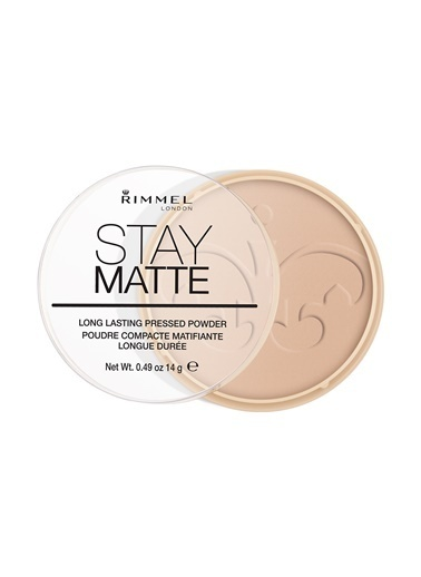 Rimmel London Stay Matte Pressed Powder Pudra  005-Sılky Beıge-Rimmel London
